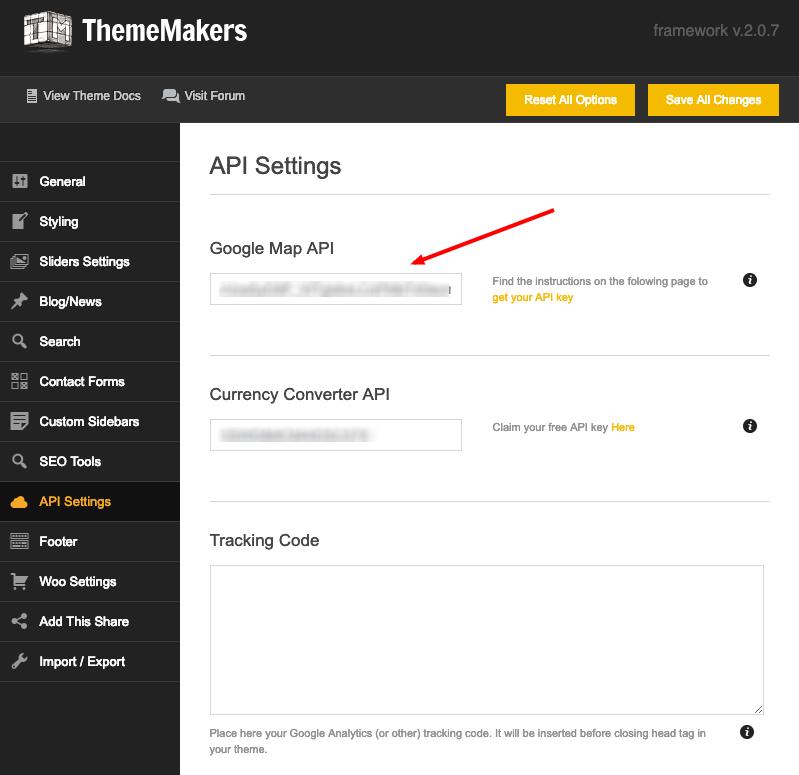Google Map API key – ThemeMakers Helpdesk